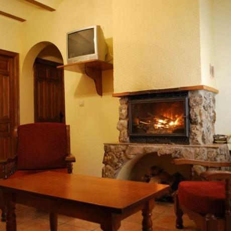 Salón de la casa rural en Yeste - Casas Rurales Amable